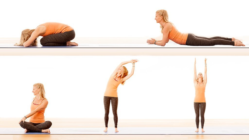 5 Yoga Poses For A Healthy Spine 0