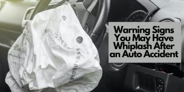 Top Warning Signs of Whiplash Following an Automobile Accident